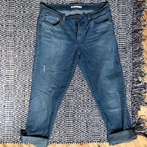 Levi's Boyfriend Jeans Crop/Ankle